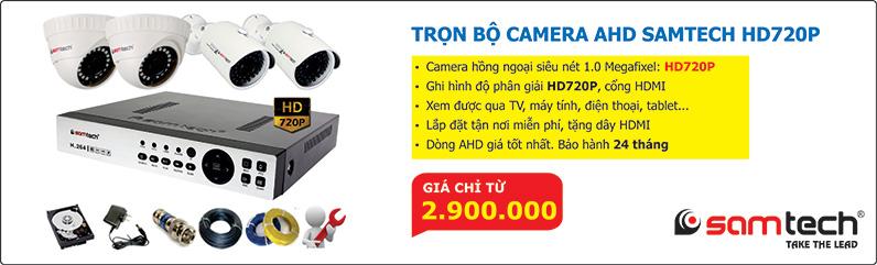 Trọn bộ camera AHD 720P