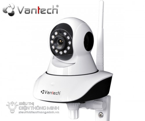 Camera IP Vantech VT-6300A (HD720P, wifi, thẻ nhớ)