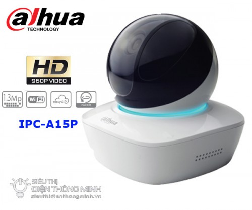 Camera IP Dahua IPC-A15P (1.3MP, wifi, quay quét)